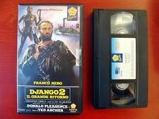 VHS.07) DJANGO 2. IL GRANDE RITORNO - PENTA VIDEO (FRANCO NERO)