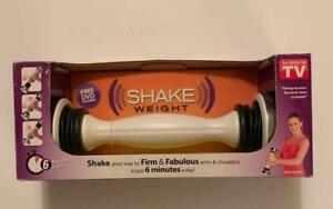Shake Weight 2.5 Lbs As Seen on TV Original w DVD & Instruction Card New in Box
