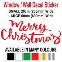 Merry Christmas gift Window Sticker,Design,Handmade2485 Christmas holiday Christmas tree toys,Wall Decal