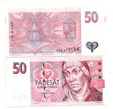 Repubblica Ceca Czech Repubblic 50 corone 1997  FDC  UNC   pick 17  lotto 2691