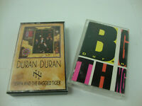 Lot Of 2 Duran Duran Cassette Tapes Big Thing & 7 & the Ragged Tiger PRE-OWNED