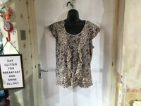 Rocha John Rocha Ladies Boho Tunic Size 16, Beautiful Design, Lovely Condition.