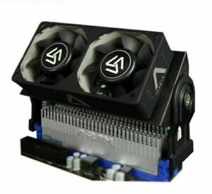 RAM Cooler Computer Fan DDR Memory with Dual 60mmFan PWM 1500-4000RPM DDR2/3/4