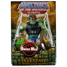 MOTUC Snake Face Masters of the Universe Classics He-Man Club Eternia New