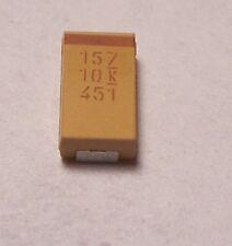 KEMET TANTALUM CAPACITORS 150uF 10V SMD (10 PCS)