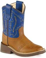 Old West Toddlers' Crepe Sole Cowboy Boot - Square Toe - 1729I