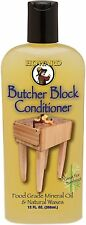 Howard Products BBC012 Food Grade Butcher Block Conditioner 12oz Protect Repair*