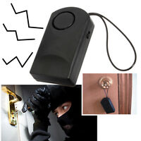 120db Wireless Vibration Alarm Home Security Door Window Car Anti-Theft Detec TP