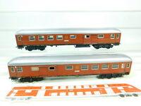 BT594-0,5# 2x Märklin H0/AC 4031 Blech-D-Zug-Wagen Gepäckabteil SJ; 2.Wahl