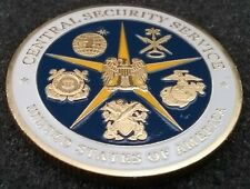 NSA Central Security Service Cryptologic Elements SCE SIGINT Cryp Challenge Coin