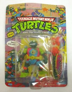 MIKE SEWER SURFER Teenage Mutant Ninja Turtles Figure Michelangelo TMNT MOC 1990