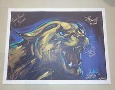 "Uk Wildcats 18x24 ""Mvp"" Print - Signed ""Goose"" Givens - Delk - Sheppard w/ Coa"