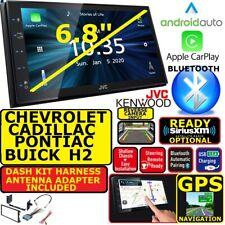 CHEVY-GMC JVC-KENWOOD NAV BLUETOOTH APPLE CARPLAY ANDROID AUTO CAR STEREO RADIO