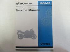 1986 1987 HONDA VT700C Shadow Service Repair Shop Manual FACTORY NEW