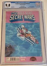 Deadpool secret wars#2 cgc 9.8 1st app of Gwenpool. 🔥🔥 bachalo variant.