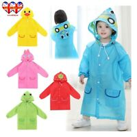 kids Raincoats,Unisex Hooded Raincoats,Kids Waterproof Funny Raincoat.