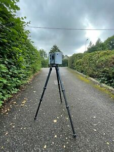 Leica RTC360 Laser Scanner with technician