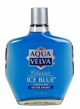 2 PACK Aqua Velva Classic Ice Blue Cooling Aftershave