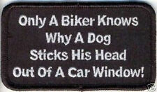ONLY A BIKER KNOWS Fun Embroidered Motorcycle MC Club Biker Vest Patch PAT-1359