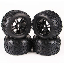 4PCS 1/8 Scale RC Monster Truck Bigfoot Tyre and Wheel Fit Traxxas 26401
