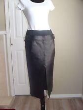 Alexander Wang Women's Black Skirt With Leather Size 2