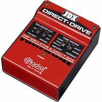 Radial Engineering JDX Direct Drive Amp Simulator and DI Box - NEW - MAKE OFFER!