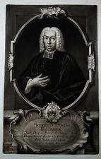 1744 Hallbauer Friedrich Andreas Jena Schabkunst-Porträt Haid Helmshausen