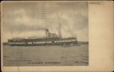Hamilton ON Steamer Ship Macassa 1908 Used Postcard Stanley Mills & Co