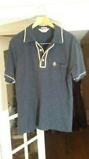 ! PENGUIN Men Cotton  Polo Shirt Navy Size M