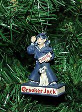 Cracker Jack Candy and Bingo The Dog Christmas Ornament