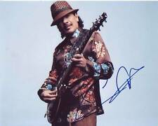 CARLOS SANTANA Signed Photo w/ Hologram COA