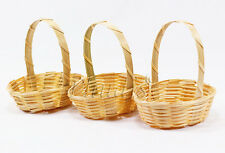 10 Mini Artificial Weaving Basket - Bamboo Wood / w 7.80 cm. BK03_800