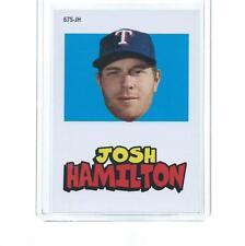 2012 TOPPS ARCHIVES BASEBALL JOSH HAMILTON STICKER #67S-JH