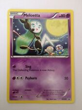 5x Meloetta(Aria) +5x  Meloett (Pirouette) Rare/Promo Pokemon Card Set#BW68&69