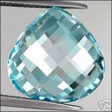 8,96 ct Top Sky Blue Topaze - Pear shape - VVS
