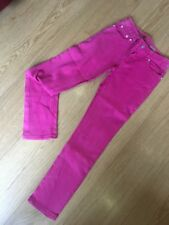 """Ralph Lauren Girls Pink Jeans Waist 28"""" Leg 28"""" Great Condition"""