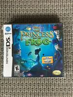 Nintendo DS Disney The Princess and the Frog Game. Factory Sealed.