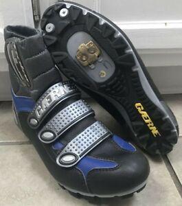 Gaerne Polar Winter Mountain Cycling Boot size EU 42 Blue Black Gray