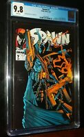 SPAWN #7 1993 Image Comics CGC 9.8 NM/MT White Pages
