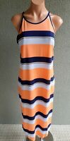 💜 COUNTRY ROAD Sleeveless Tunic Maxi Dress Multicolor Size S Buy7=FreePost L823