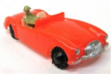 c. 1960 Blue-Box 7422 MGA Convertible Hong Kong RED plastic Matchbox Copy