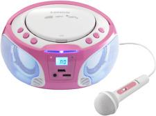 LENCO SCD-650 Radiorecorder, Pink