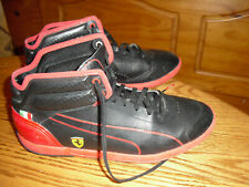 Puma Ferrari Future Men's Black/ Red Athletic Sneakers Size 7
