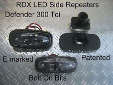 RDX LED DARK Side Repeaters LandRover Defender 90/110 1994 to 1998 300 Tdi ONLY