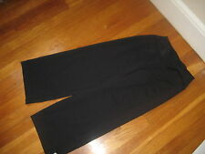 Athleta black capri yoga PANTS cropped stretch athletic leggings womens Size XXS