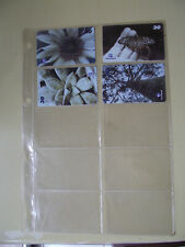 GARDENS Complete Set of 4 Different Phone Cards from Brazil