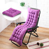 Chaise Lounger Cushion Pad Lounge Rocking Recliner Chair Sofa Mat Many Sizes