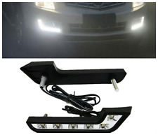 2pcs White 6 LED L Shaped Daytime Running Lights DRL for Audi bmw Benz Style