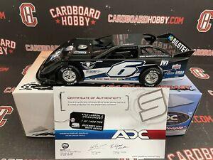 Kyle Larson Dirt Late Model Diecast ADC 1/24! VERY RARE! #6 Rumley! COA!