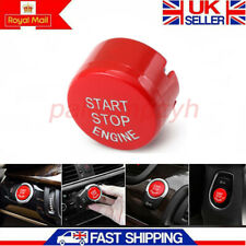 1X Red Start Stop Engine Button Switch Cover For BMW 1 2 3 5 6 7 Series